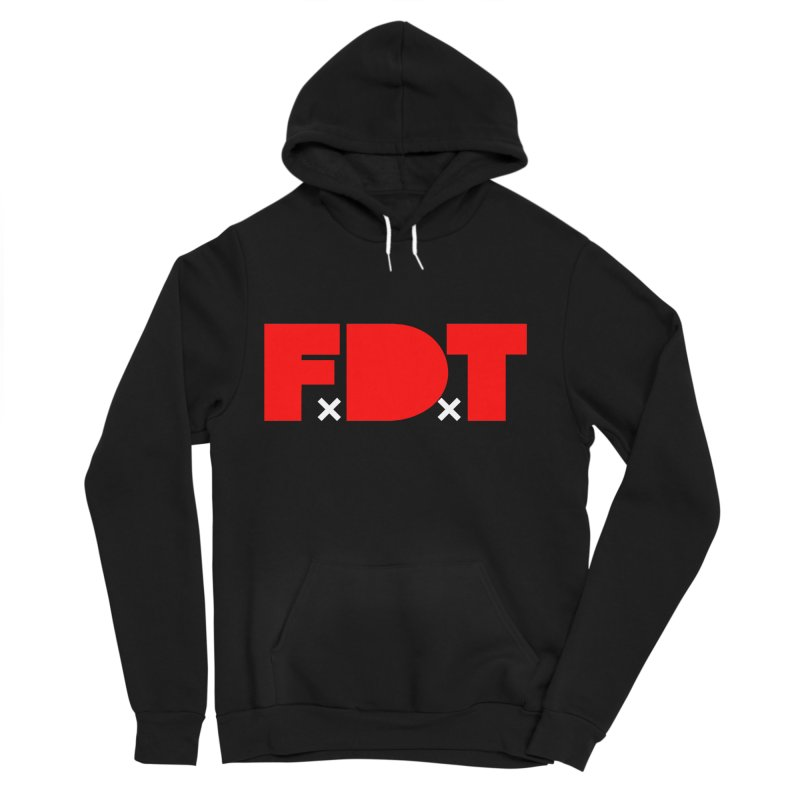 TDE x FDT Red (Men's & Women's) Women's Sponge Fleece Pullover Hoody by NPHA.SHOP
