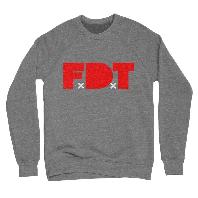 TDE x FDT Red (Men's & Women's) Women's Sponge Fleece Sweatshirt by NPHA.SHOP