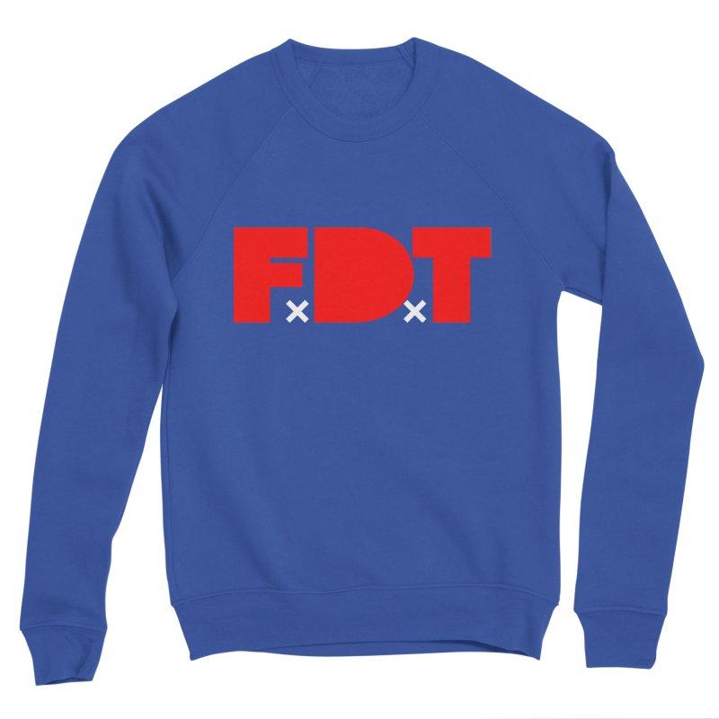 TDE x FDT Red (Men's & Women's) Men's Sponge Fleece Sweatshirt by NPHA.SHOP