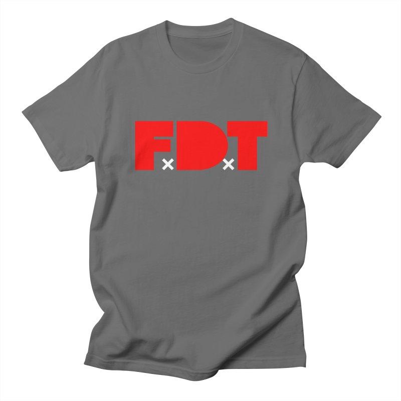 TDE x FDT Red (Men's & Women's) Men's T-Shirt by NPHA.SHOP