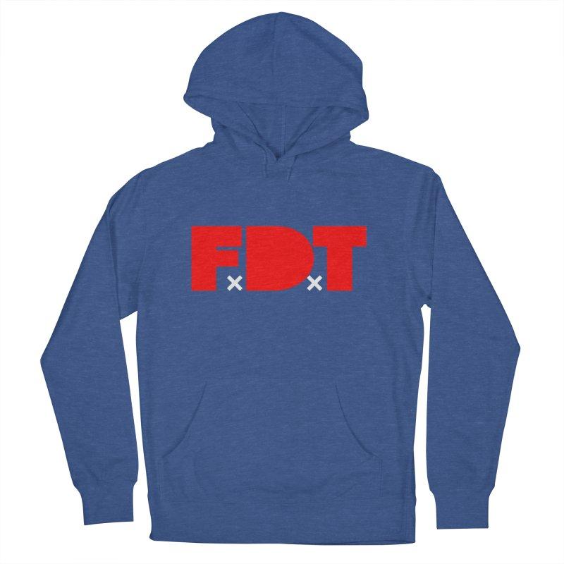 TDE x FDT Red (Men's & Women's) Men's French Terry Pullover Hoody by NPHA.SHOP