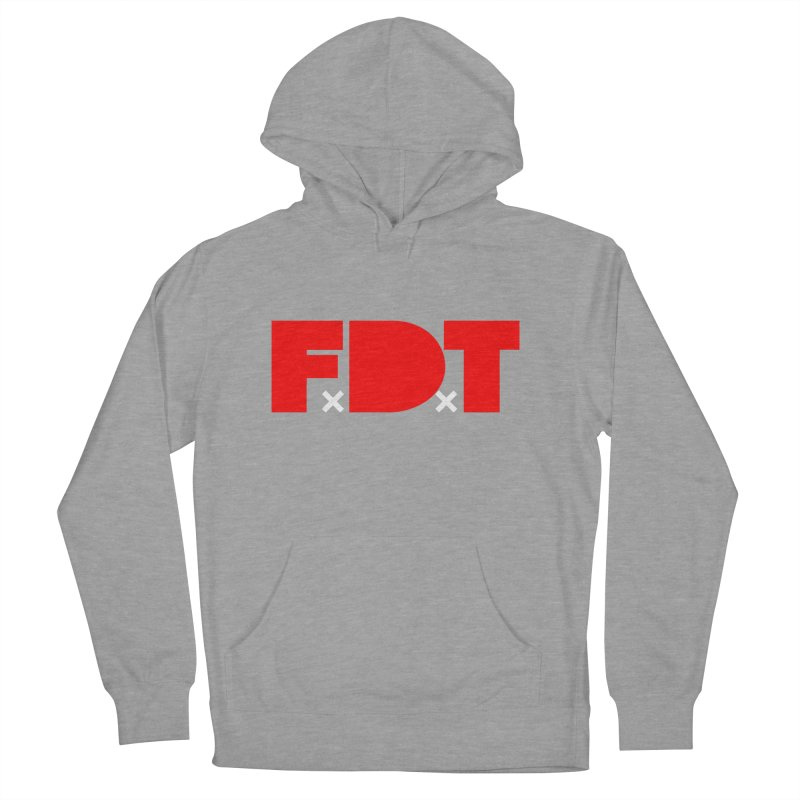 TDE x FDT Red (Men's & Women's) Men's French Terry Pullover Hoody by NPHA.SHOP