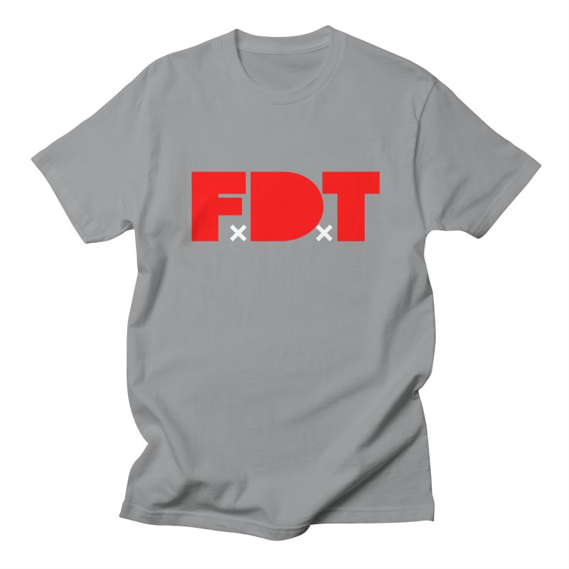 TDE x FDT Red (Men's & Women's) Women's Regular Unisex T-Shirt by NPHA.SHOP