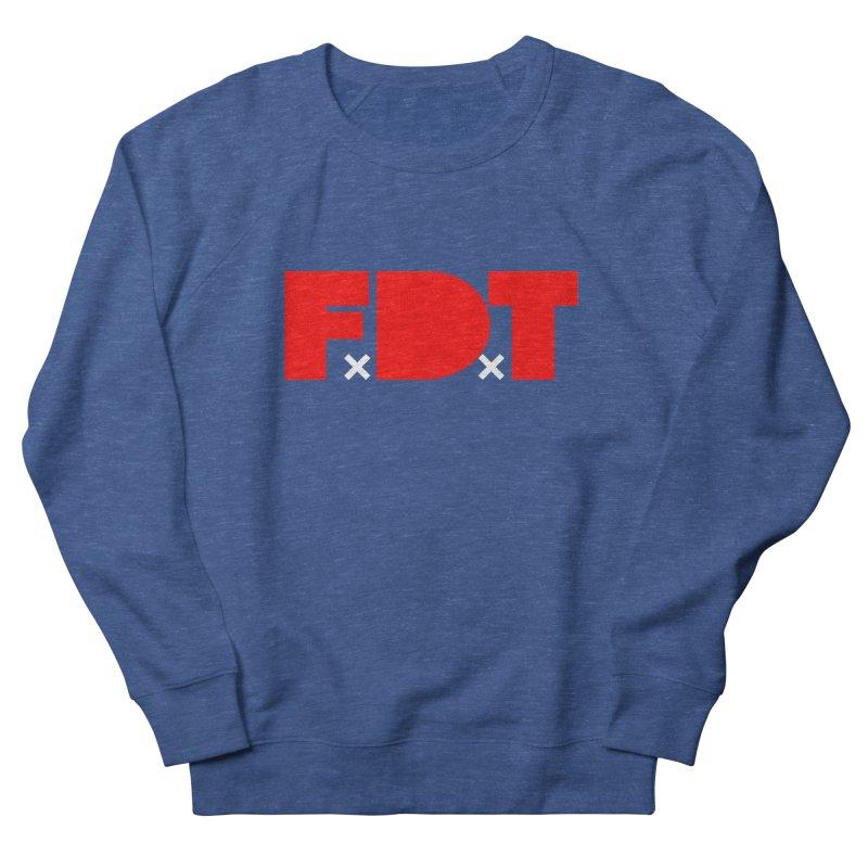 TDE x FDT Red (Men's & Women's) Men's French Terry Sweatshirt by NPHA.SHOP