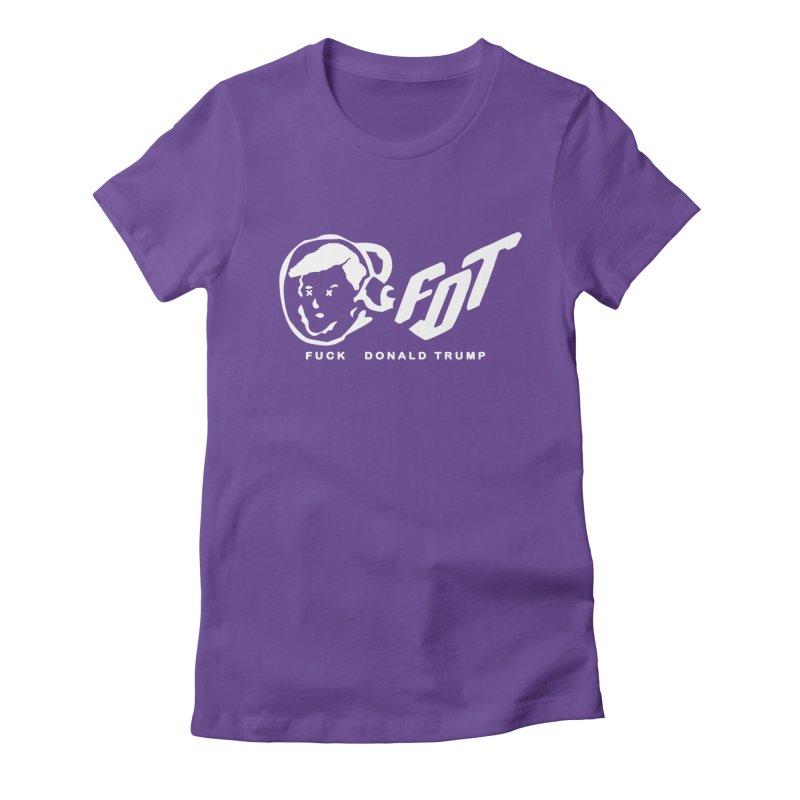 BBC x FDT [Album] (Men's & Women's) Women's Fitted T-Shirt by NPHA.SHOP