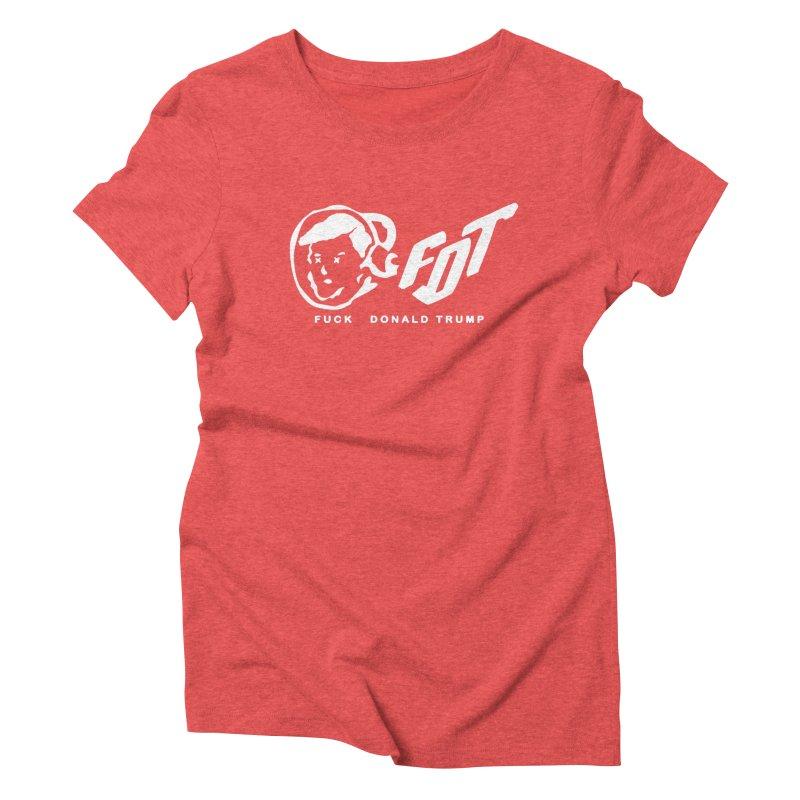 BBC x FDT [Album] (Men's & Women's) Women's Triblend T-Shirt by NPHA.SHOP