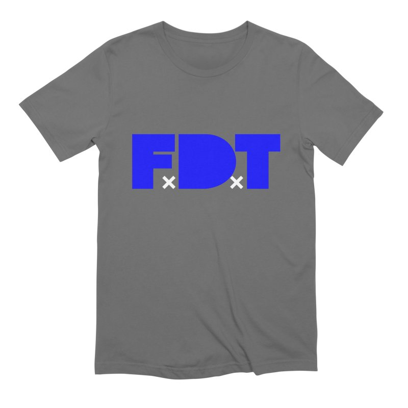 TDE x FDT Blue (Men's & Women's) Men's Extra Soft T-Shirt by NPHA.SHOP