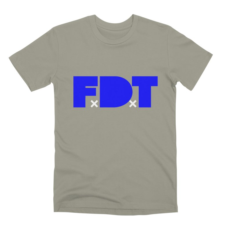 TDE x FDT Blue (Men's & Women's) Men's Premium T-Shirt by NPHA.SHOP
