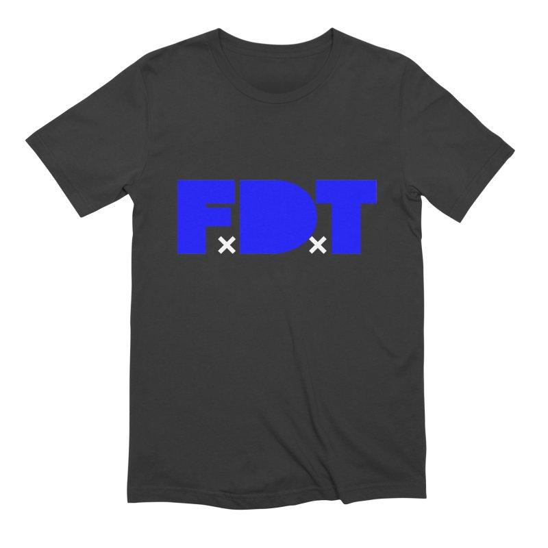TDE x FDT Blue (Men's & Women's) Men's Extra Soft T-Shirt by NPHA.SHOP