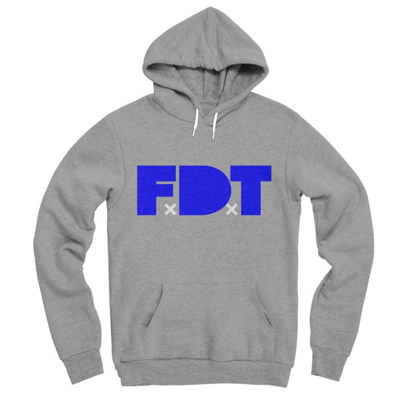 TDE x FDT Blue (Men's & Women's) Women's Sponge Fleece Pullover Hoody by NPHA.SHOP