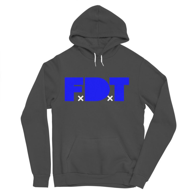 TDE x FDT Blue (Men's & Women's) Men's Sponge Fleece Pullover Hoody by NPHA.SHOP