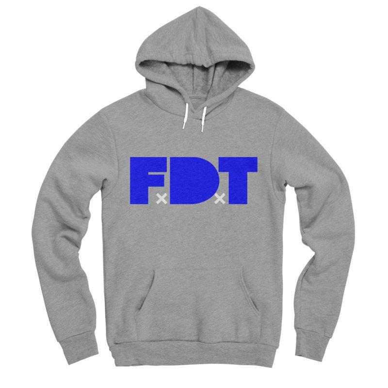 TDE x FDT Blue (Men's & Women's) Men's Sponge Fleece Pullover Hoody by NPHA.SHOP