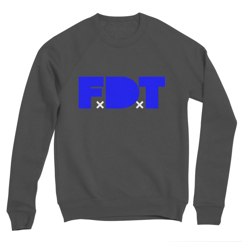 TDE x FDT Blue (Men's & Women's) Women's Sponge Fleece Sweatshirt by NPHA.SHOP