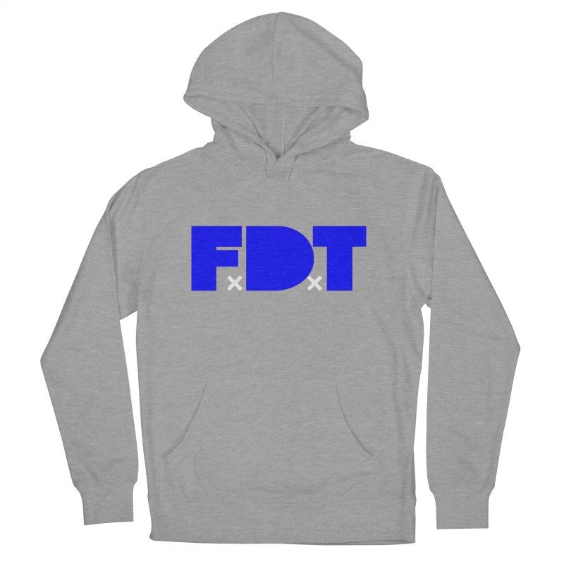 TDE x FDT Blue (Men's & Women's) in Men's French Terry Pullover Hoody Heather Graphite by NPHA.SHOP