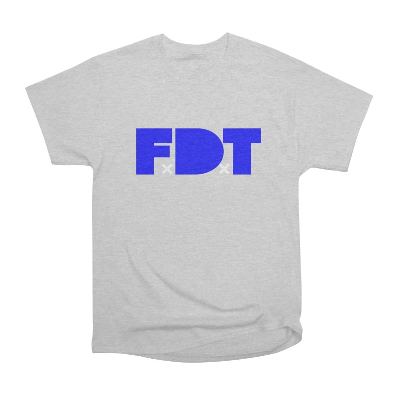 TDE x FDT Blue (Men's & Women's) Women's Heavyweight Unisex T-Shirt by NPHA.SHOP