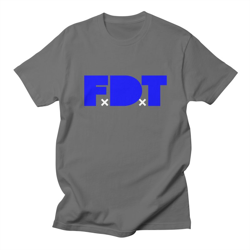 TDE x FDT Blue (Men's & Women's) Men's Regular T-Shirt by NPHA.SHOP