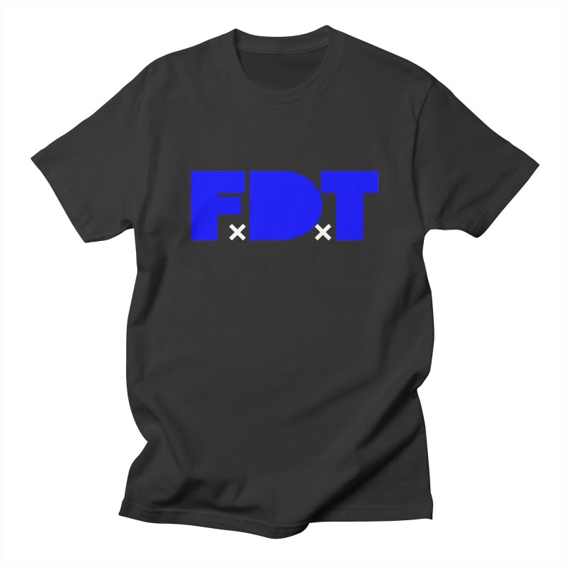 TDE x FDT Blue (Men's & Women's) Men's Regular T-Shirt by NPHA.SHOP