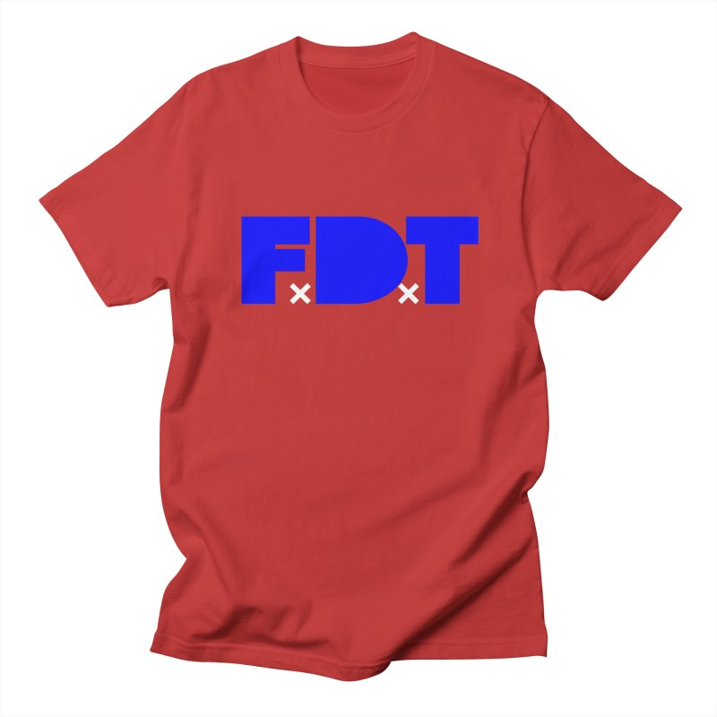 TDE x FDT Blue (Men's & Women's) Women's Regular Unisex T-Shirt by NPHA.SHOP