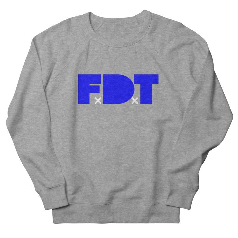 TDE x FDT Blue (Men's & Women's) Women's French Terry Sweatshirt by NPHA.SHOP