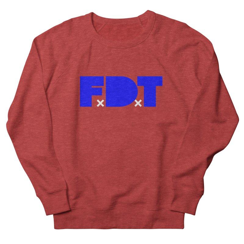 TDE x FDT Blue (Men's & Women's) Women's French Terry Sweatshirt by NPHA.SHOP