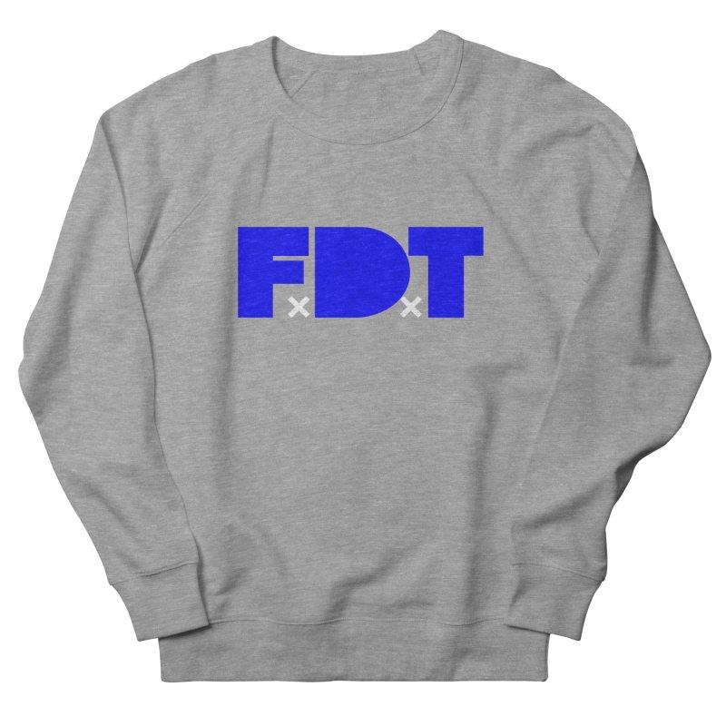 TDE x FDT Blue (Men's & Women's) Men's French Terry Sweatshirt by NPHA.SHOP