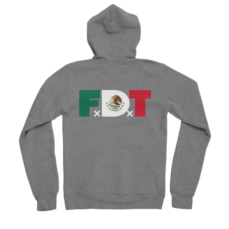 TDE x FDT El Tri (Men's & Women's) Women's Sponge Fleece Zip-Up Hoody by NPHA.SHOP