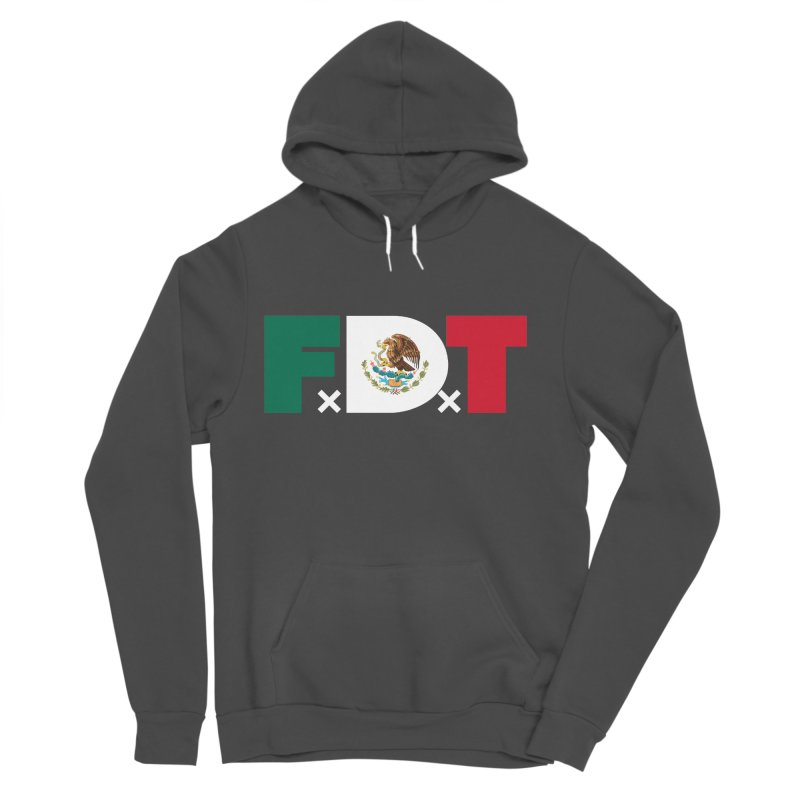 TDE x FDT El Tri (Men's & Women's) Men's Sponge Fleece Pullover Hoody by NPHA.SHOP