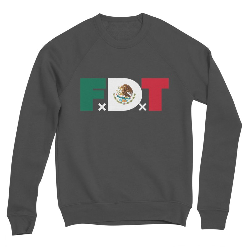 TDE x FDT El Tri (Men's & Women's) Men's Sponge Fleece Sweatshirt by NPHA.SHOP