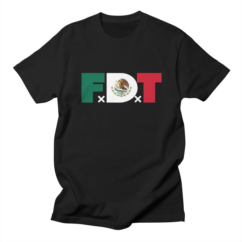 TDE x FDT El Tri (Men's & Women's) Men's Regular T-Shirt by NPHA.SHOP