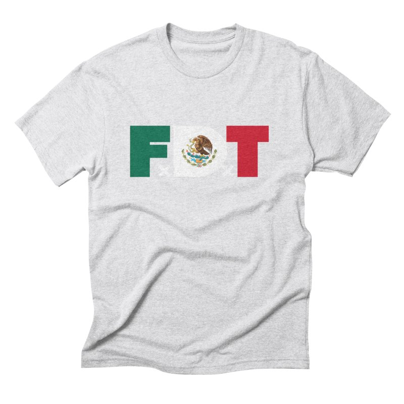 TDE x FDT El Tri (Men's & Women's) Men's Triblend T-Shirt by NPHA.SHOP