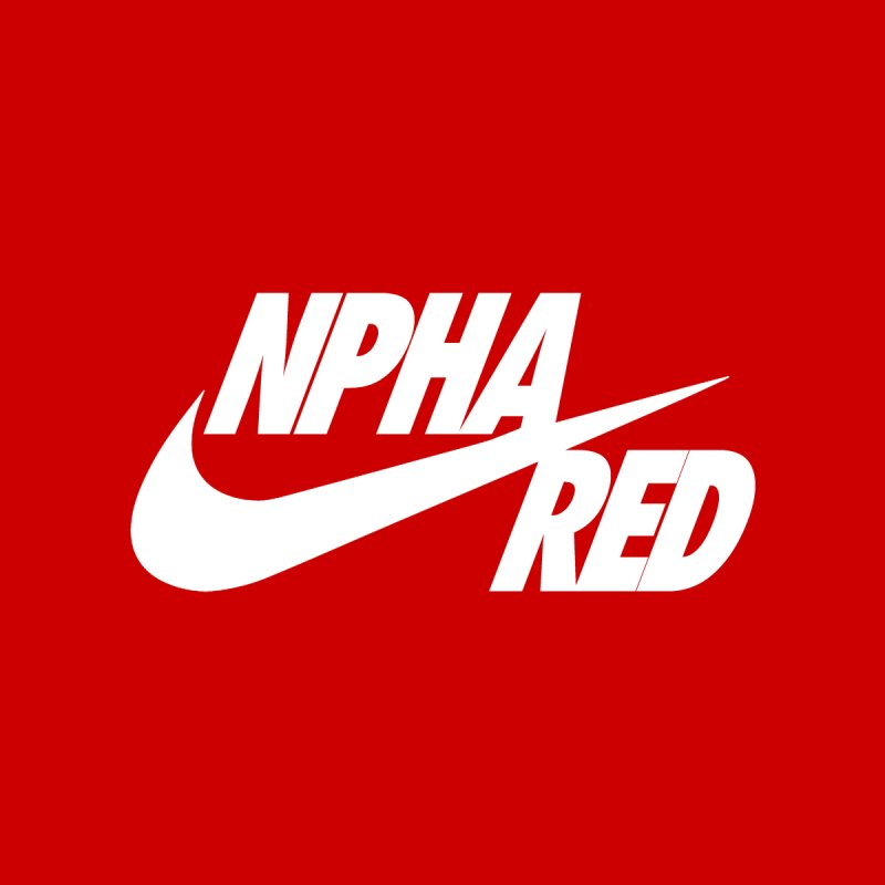 NPHA RED I (Men's & Women's) by NPHA.SHOP