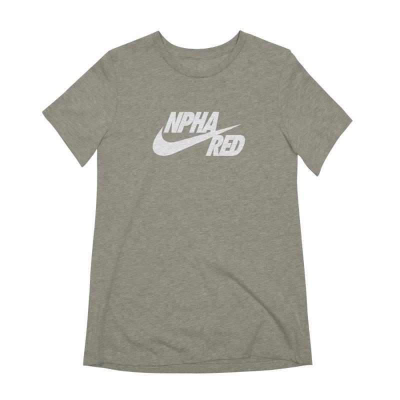 NPHA RED I (Men's & Women's) Women's Extra Soft T-Shirt by NPHA.SHOP