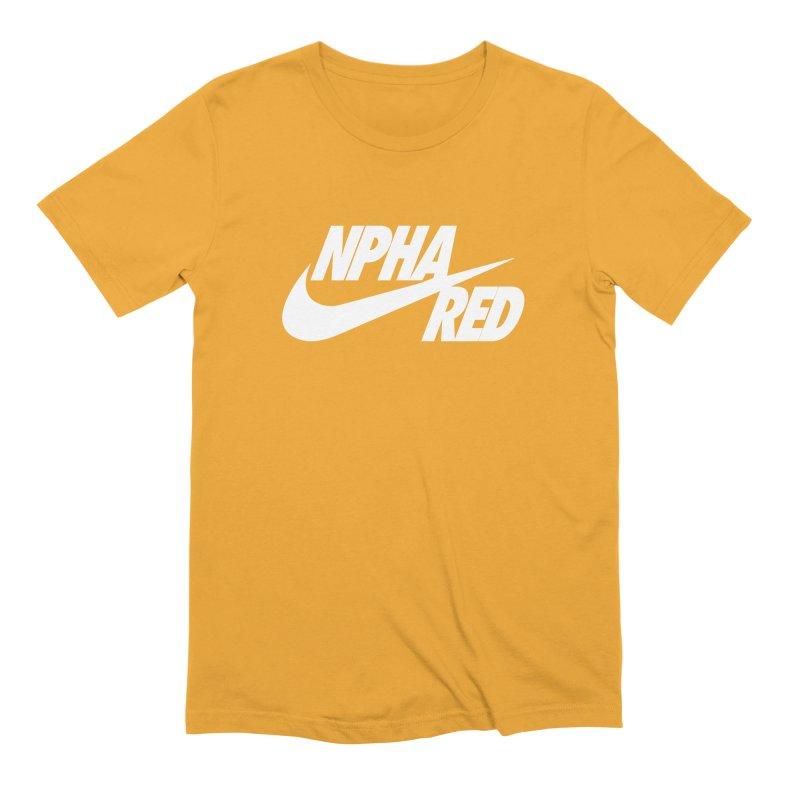 NPHA RED I (Men's & Women's) Men's Extra Soft T-Shirt by NPHA.SHOP