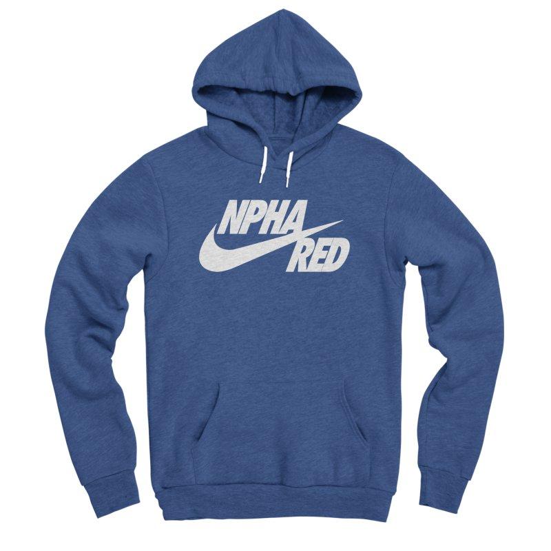 NPHA RED I (Men's & Women's) Men's Sponge Fleece Pullover Hoody by NPHA.SHOP