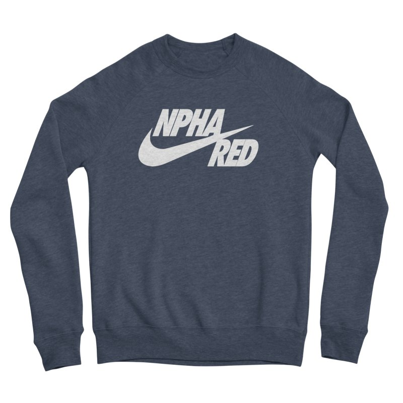 NPHA RED I (Men's & Women's) Men's Sponge Fleece Sweatshirt by NPHA.SHOP