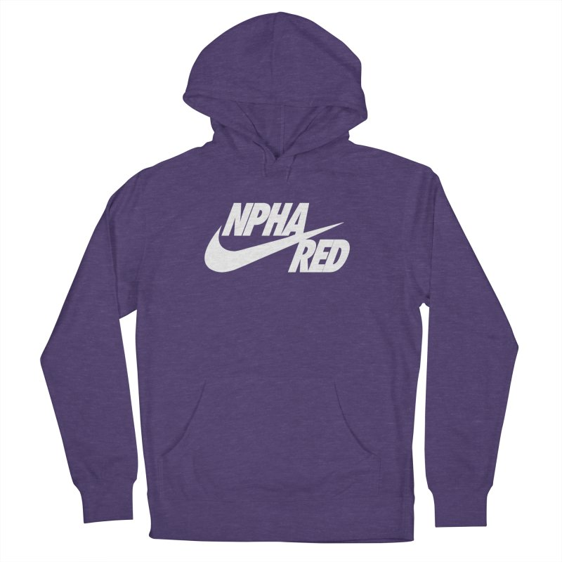 NPHA RED I (Men's & Women's) Women's French Terry Pullover Hoody by NPHA.SHOP