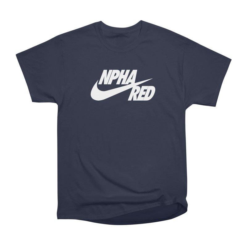 NPHA RED I (Men's & Women's) Men's Heavyweight T-Shirt by NPHA.SHOP