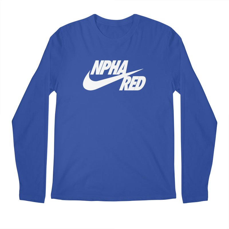 NPHA RED I (Men's & Women's) Men's Regular Longsleeve T-Shirt by NPHA.SHOP