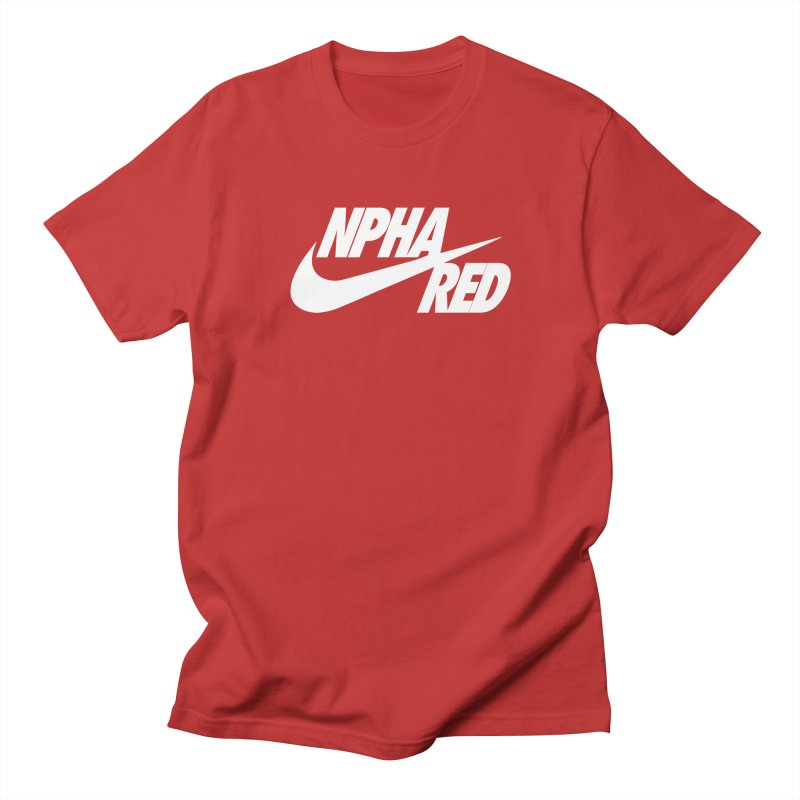 NPHA RED I (Men's & Women's) Men's Regular T-Shirt by NPHA.SHOP