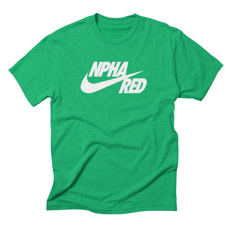 NPHA RED I (Men's & Women's) Men's Triblend T-Shirt by NPHA.SHOP