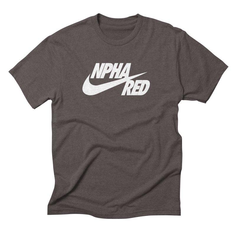 NPHA RED I (Men's & Women's) Men's Triblend T-Shirt by NPHA.SHOP
