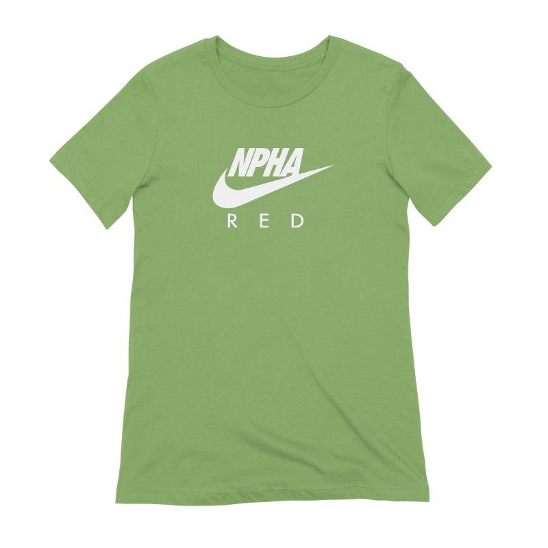 NPHA RED II (Men's & Women's) Women's Extra Soft T-Shirt by NPHA.SHOP