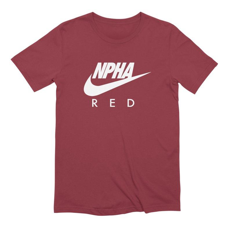 NPHA RED II (Men's & Women's) Men's Extra Soft T-Shirt by NPHA.SHOP