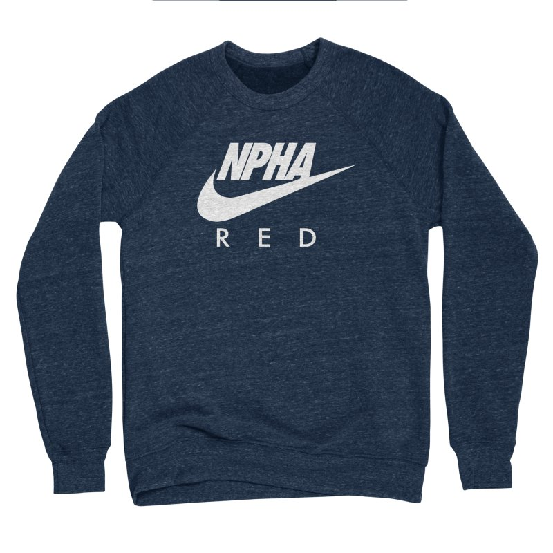 NPHA RED II (Men's & Women's) Men's Sponge Fleece Sweatshirt by NPHA.SHOP