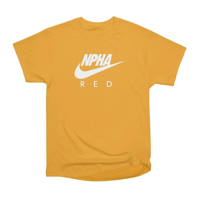 NPHA RED II (Men's & Women's) Men's Heavyweight T-Shirt by NPHA.SHOP