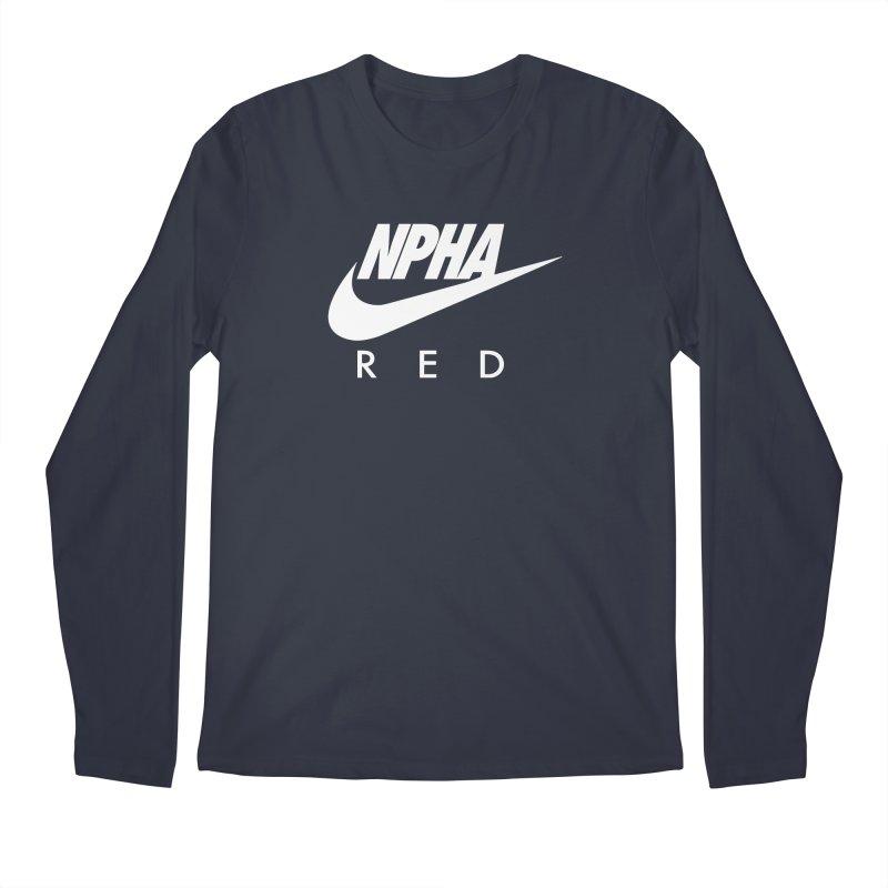 NPHA RED II (Men's & Women's) Men's Regular Longsleeve T-Shirt by NPHA.SHOP