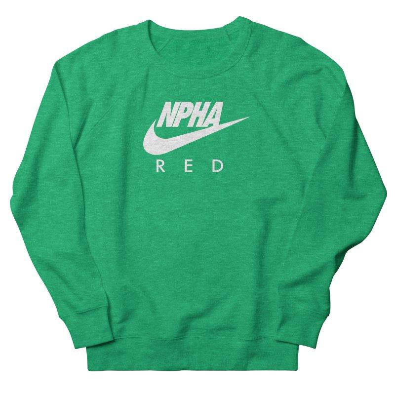 NPHA RED II (Men's & Women's) Men's French Terry Sweatshirt by NPHA.SHOP