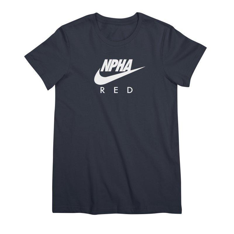 NPHA RED II (Men's & Women's) Women's Premium T-Shirt by NPHA.SHOP