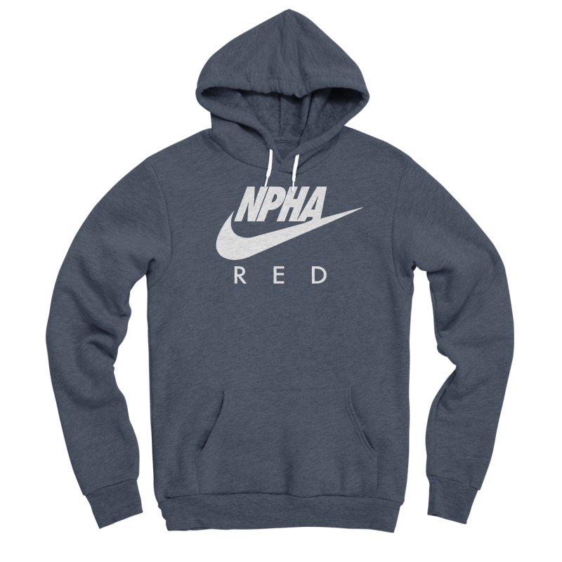 NPHA RED II (Men's & Women's) Men's Sponge Fleece Pullover Hoody by NPHA.SHOP