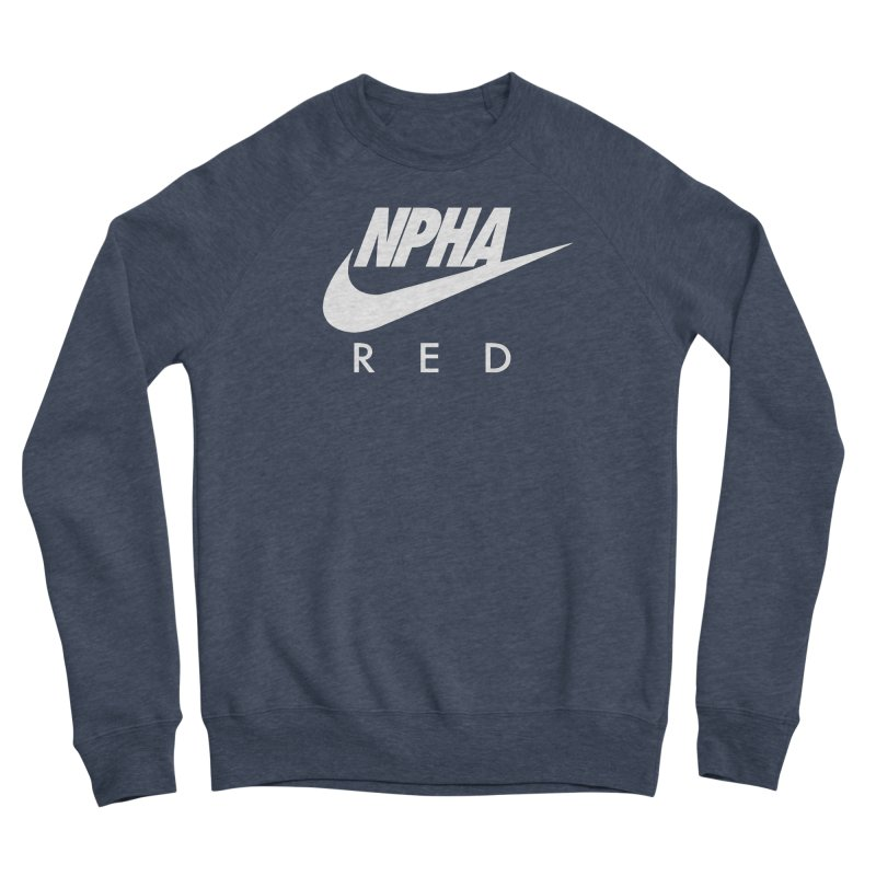 NPHA RED II (Men's & Women's) Men's Sponge Fleece Sweatshirt by NPHA.SHOP
